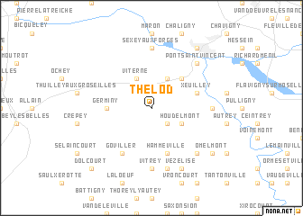 map of Thelod