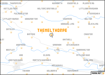 map of Themelthorpe