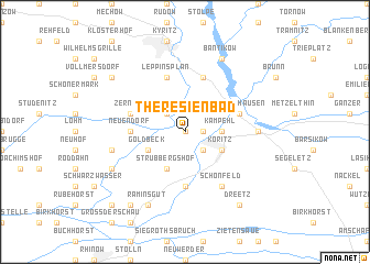 map of Theresienbad