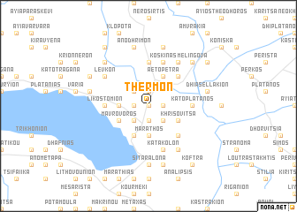 map of Thérmon