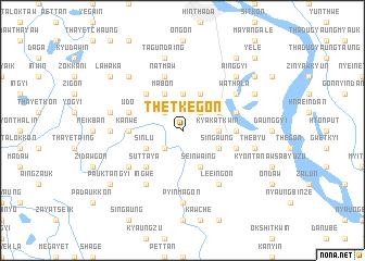 map of Thetkegon