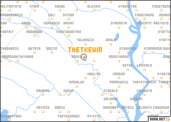 map of Thetkewin