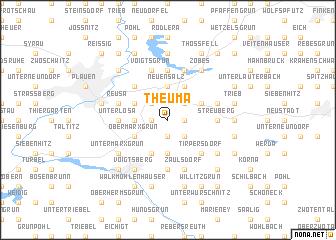 map of Theuma