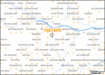 map of Theyern