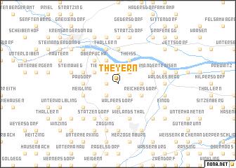 map of Theyern