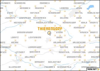 map of Thiemendorf