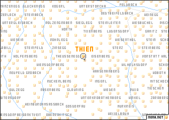 map of Thien