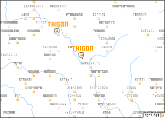 map of Thigon