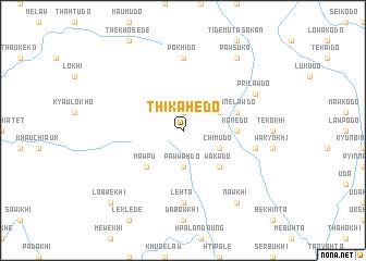 map of Thikahedo