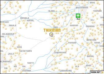 map of Thikriān