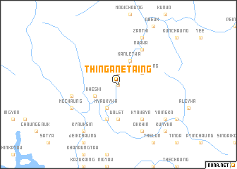 map of Thinganet Aing