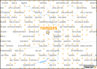 map of Thingers