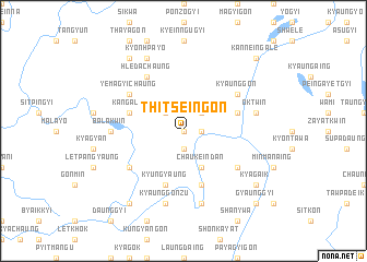 map of Thitseingon