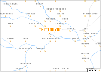 map of Thittawywa