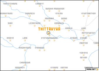 map of Thittawywa