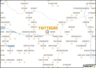 map of Thittogan