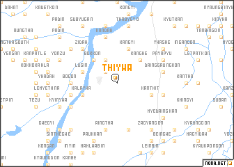 map of Thiywa