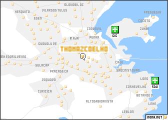 map of Thomaz Coelho