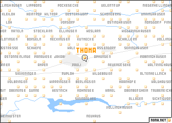 map of Thomä