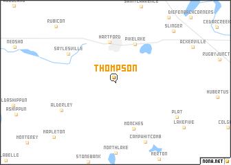 map of Thompson
