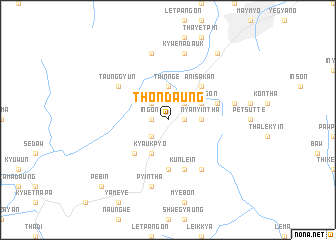 map of Thondaung