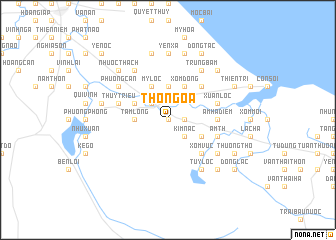 map of Thổ Ngọa