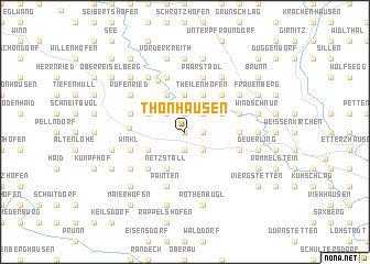 map of Thonhausen