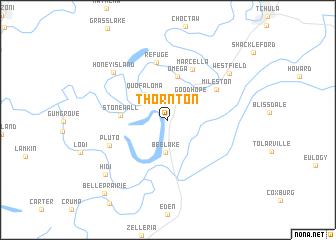 Thornton United States USA map nonanet
