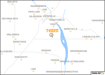 map of Thorn