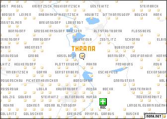 map of Thräna