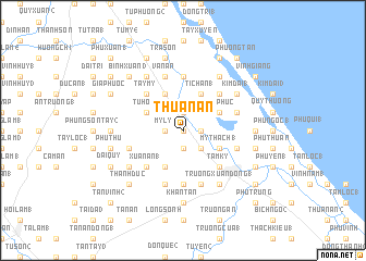 map of Thuận An