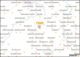 map of Thum
