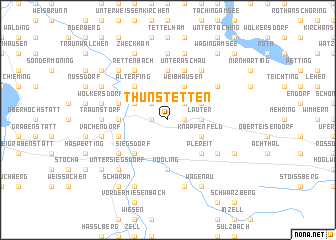 map of Thunstetten
