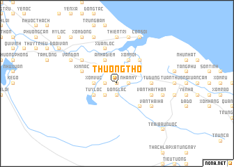 map of Thượng Thọ
