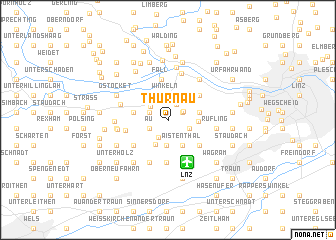 map of Thürnau