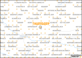 map of Thurndorf