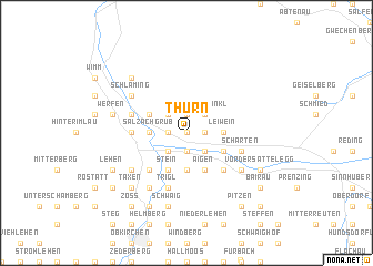 map of Thurn