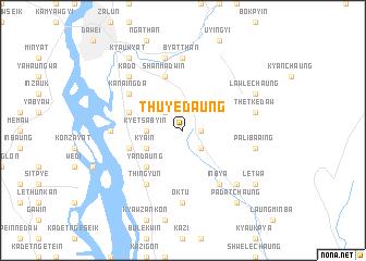 map of Thu-ye-daung