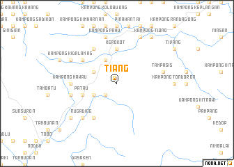map of Tiang