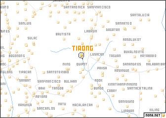 map of Tiaong