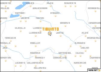 map of Tibuinto
