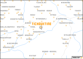 map of Tichouktine