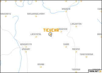 map of Ticucha