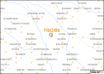 map of Tidiziou