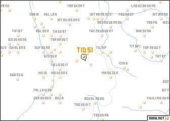 map of Tidsi