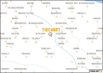 map of Tiechart