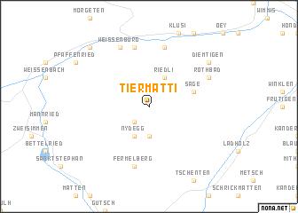 map of Tiermatti