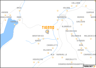 map of Tierno