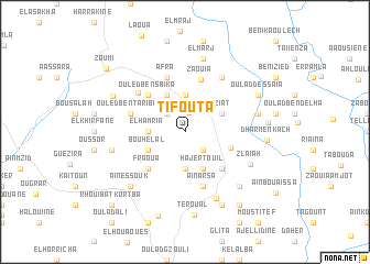map of Tifouta