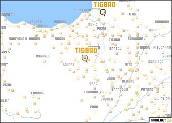 map of Tigbao